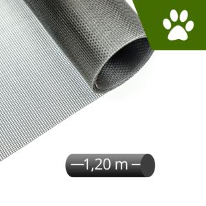 Fliegengitter katzensicher grau 120cm Rolle