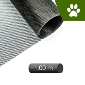 Fliegengitter katzensicher schwarz 100cm Rolle