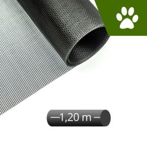 Fliegengitter katzensicher schwarz 120cm Rolle